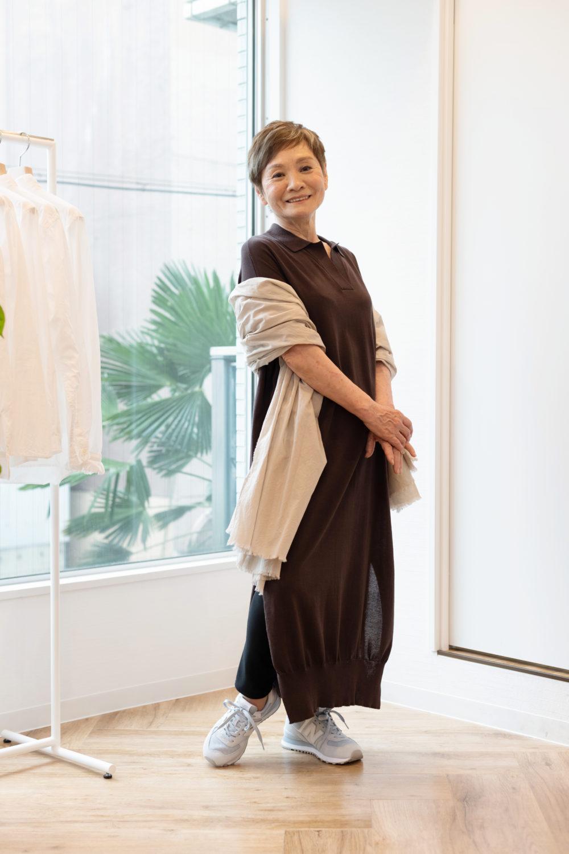 70代おしゃれ_シニアファッション