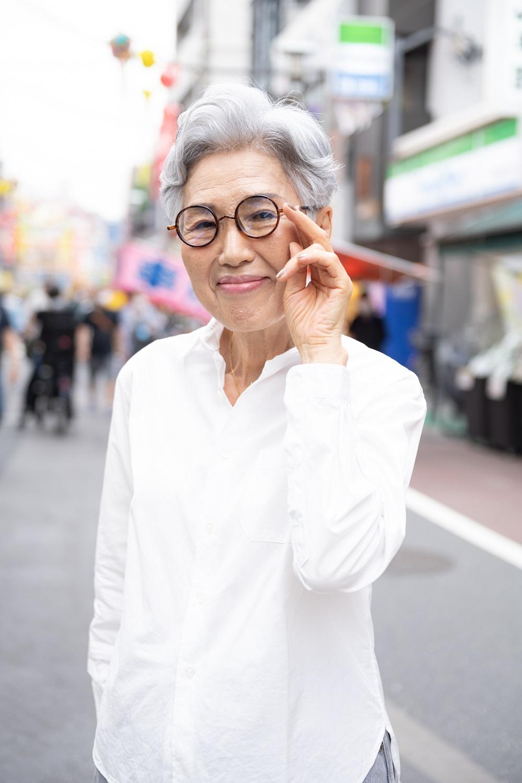 シニアファッション_老眼鏡